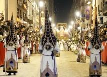 semana santa Lorca nazarenos