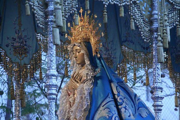 semana santa Lorca virgen Dolores