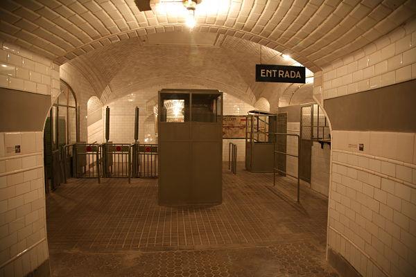 chamberi metro madrid historia