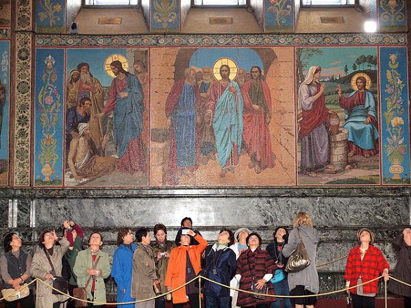 iglesia salvador sangre derramada viajeros
