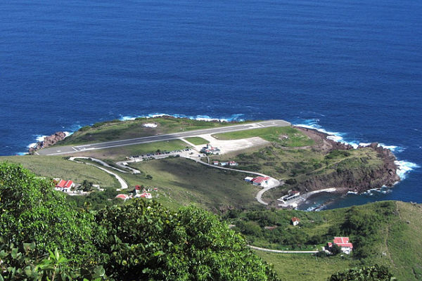 pistas aterrizaje más peligrosas mundo Saba